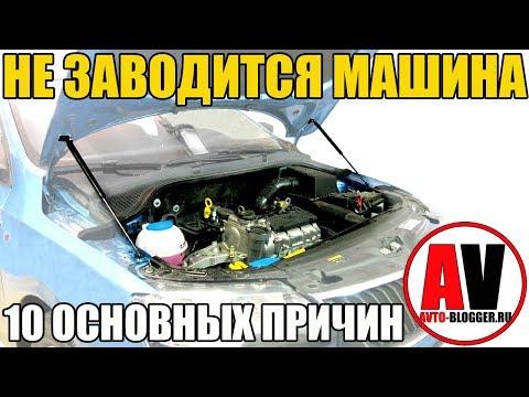 Не заводится машина - 10 ПРИЧИН! Стартер, аккумулятор, топливо ...