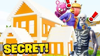 Minecraft: We Found FORTNITE'S SECRET HOUSE! (Ps3/Xbox360/PS4/XboxOne/PE/MCPE)