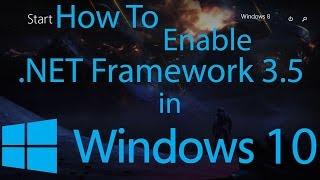 Instalar Microsoft.Net Framework 3.5 en Windows 10 sin Internet