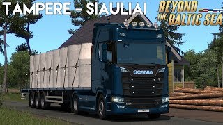 Ets 2 1 33 x beyond baltic sea freight job on russia finland