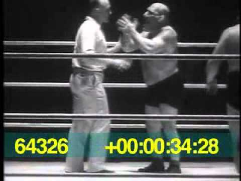 Maurice Tillet (The Angel) vs Jerry Monohan Toronto March 7 1940
