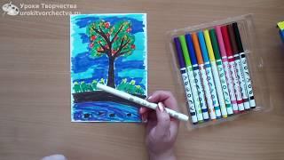 Играйте и учитесь рисовать с детьми 3-6 лет. Необычные фломастеры