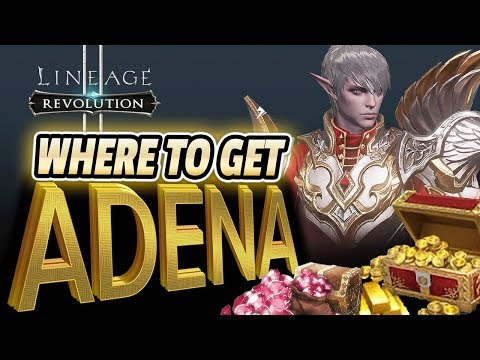 Where to LOAD UP on ADENA & RED DIAMONDS :: Lineage 2 Revolution