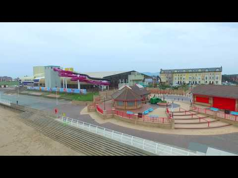 dji phantom 3 advanced video setting on rhyl beach