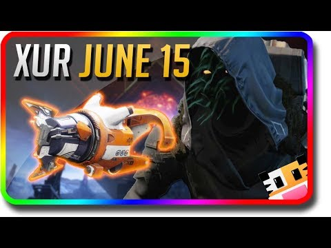 """Destiny 2 - Xur Location & Xur Exotic Inventory """"Tractor Cannon"""" 6/15/2018 (Xur June 15)"""