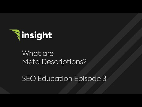 Ep 3: What are meta descriptions?