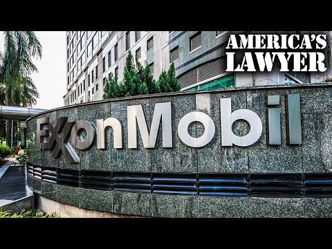 Shareholders Take Exxon To Court For Their Role In Climate Change