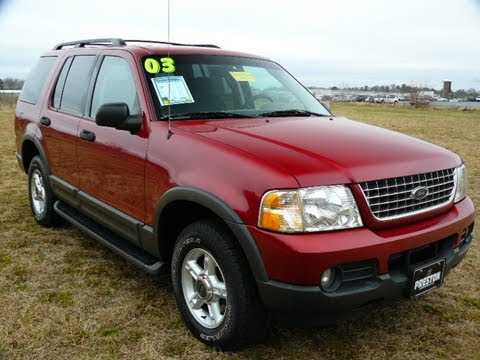 Used Ford Explorer For Sale >> Cheap Used Car Maryland 2003 Ford Explorer For Sale