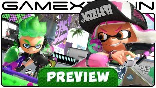 Splatoon 2 - Single Player Hands-On PREVIEW (Nintendo Switch)