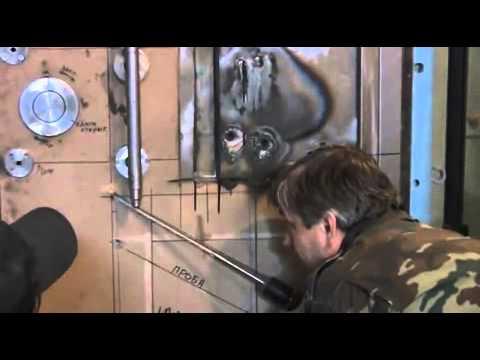 Высверливание Неман   Испытания Н 16 первая попытка (Испытания двери Неман Н-16 в ИЦ Опытное на 5 класс взломостойкости.)
