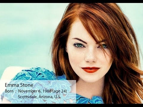 Actress Emma Stone movies list