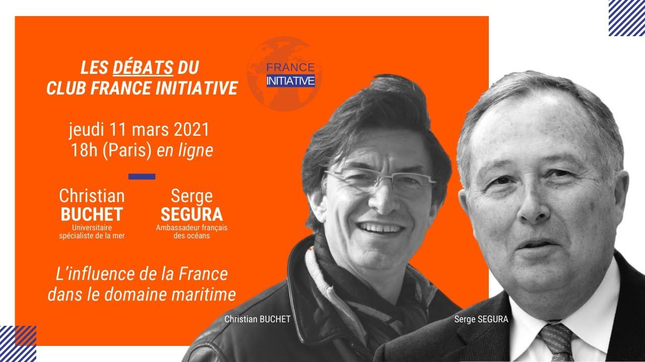 [INVITATION] Débat avec C. BUCHET et S. SEGURA sur l'influence de la France dans le domaine maritime