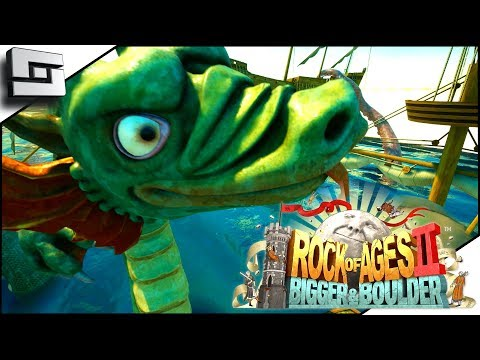 CELTIC SEA BOSS BATTLE! Rock of Ages 2! Bigger and Boulder!