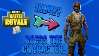 Fortnite Quiz | Guess the Character