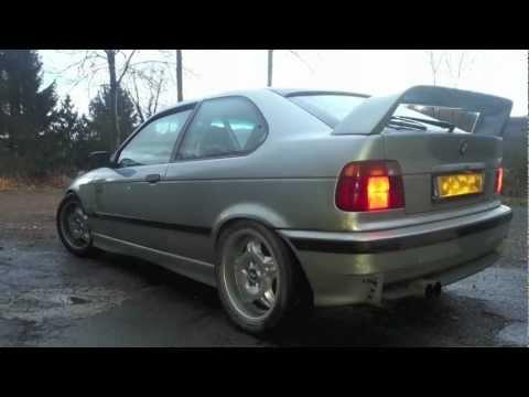 Bmw E36 323ti Compact Drifting  Movie