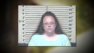 Kentucky Clerk Jailed After Refusing to Issue Marriage Licenses to Same-Sex Couples