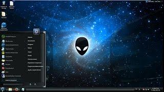 Tema de AlienWare para Windows 7, 8 ,  8.1  super Facil