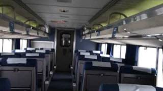 Amtrak Empire Builder Walk Thru10Cars