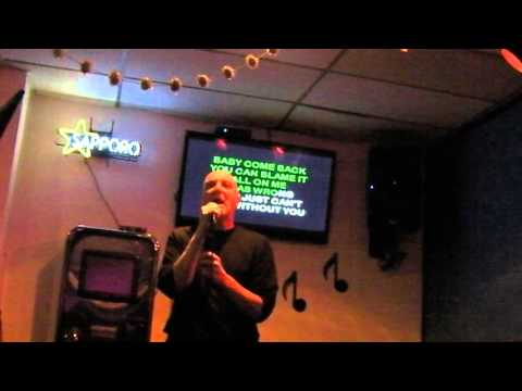 Igor sings karaoke Baby Come Back by Player at NIck's Lounge Berkeley CA