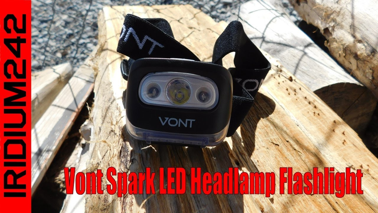 Vont Spark LED Headlamp Flashlight: Awesome Budget Gear!