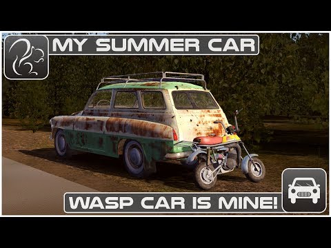My Summer Car - Episode 61 - The Wasp Car Is Mine!