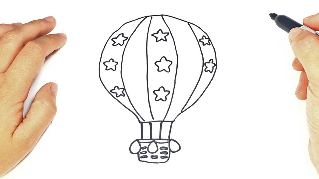 Dibujos Para Colorear Globos Aerostaticos Dibujo De Globo