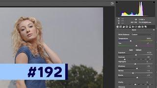 HOW I RETOUCH: Pt. 1 Camera RAW Processing - Photoshop Tutorial