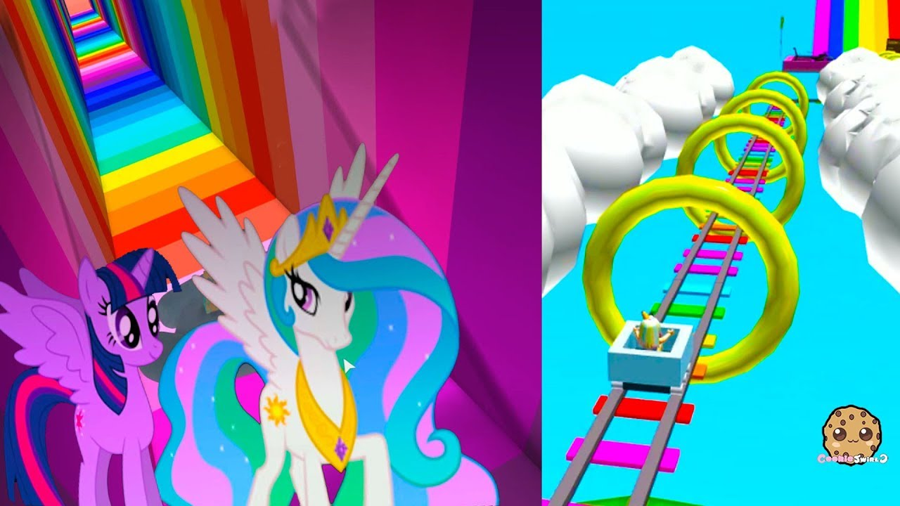 Super Amazing Rainbow Ride  Pony Roblox Online Video Game