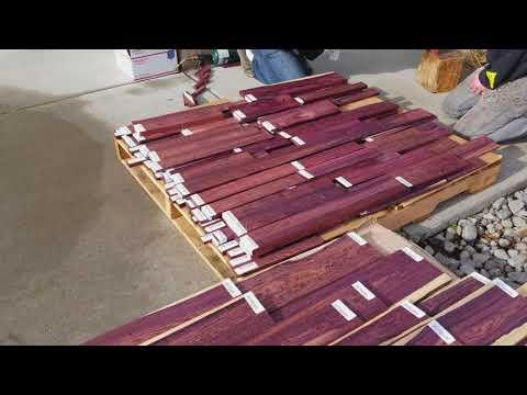 Camatillo Rosewood - A Rare Exotic Hardwood