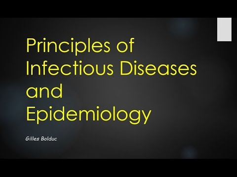 Principles of Infectious Diseases and Epidemiology