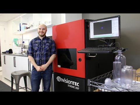 3D Printing design for packaging - Berlin Packaging case study using EnvisionTEC 3d printers - Xtreme 3SP and Perfactory XXL