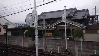 《車窓》近鉄南大阪線 急行 橿原神宮前~古市