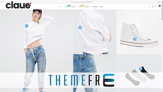 Claue Fre Theme On Sale Clean, Minimal Wordpress for Shop, Retailer, Fashion, Style, Products