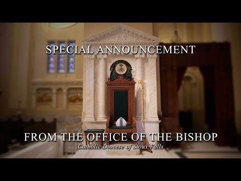 Introduction Of Bishop-elect DeGrood And Press Conference