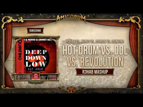 Hot Drum vs. Deep Down Low vs. Revolution vs. Bawah Tanah (R3hab Mashup)