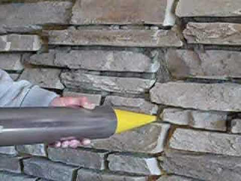 Rockit Grout Gun Mortar Stone Rock Tile Amp Brick Joints