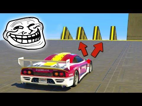 CARRERA SUPER TROLL!! NO PUEDO MAS!! - CARRERA GTA V ONLINE - GTA 5 ONLINE