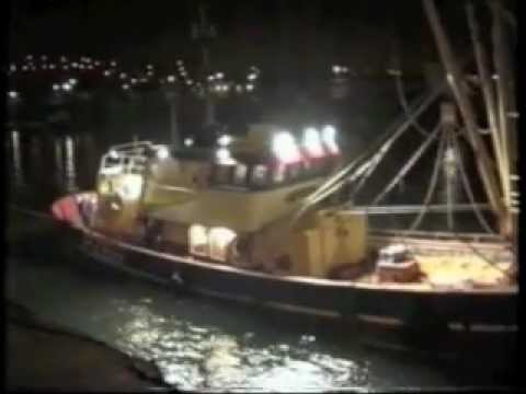 Fishing boats in Newlyn Harbour 1994