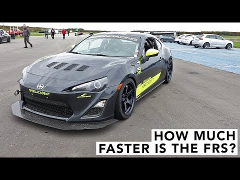 How Much Faster is +40 WHP? Scion FRS Track Review