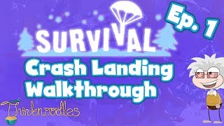 ★ Poptropica: Survival Ep. 1 - Crash Landing Walkthrough ★