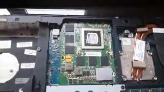 Alienware M17x R3 Review_Details Разбор и замена термопасты