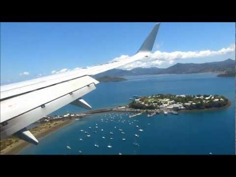Air Austral Landing in Mayotte
