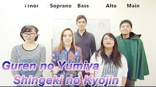 Repeat youtube video 【Diana Garnet】Guren no Yumiya [Shingeki no Kyojin] (Acapella Cover)