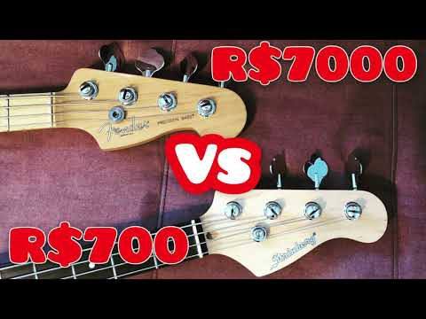 Download Strinberg CAB-16 vs Fender American PBass - Vale a pena?