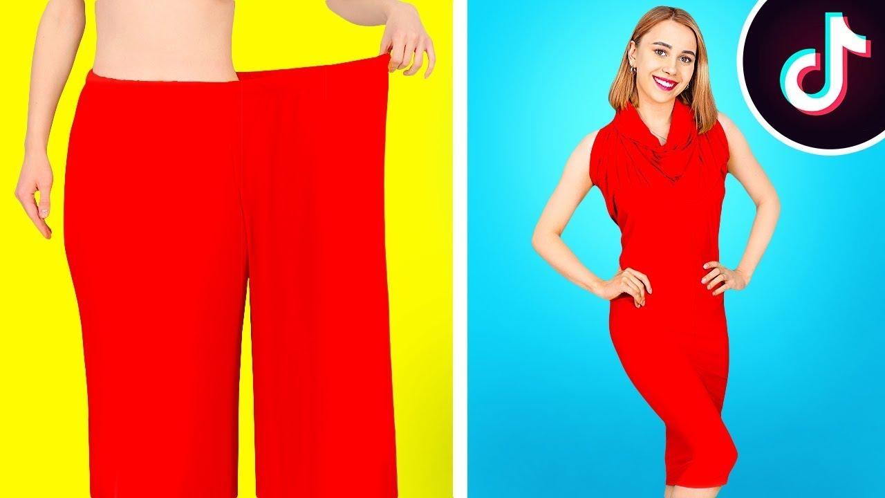 TRUCURI VESTIMENTARE DIY DE PE TIKTOK || Idei de reparații pentru haine, marca 123 GO! BOYS