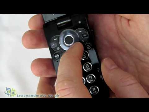 Sony Ericsson W980 unboxing