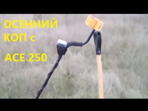 Октябрьский коп с АСЕ 250. Жизнь в деревне. Life in Russia.