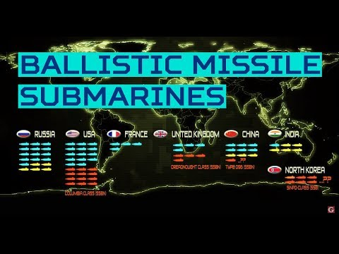 World's Ballistic Missile Submarines (SSBN) and their 'Secret' Bases