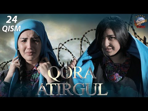 Qora Atirgul (o'zbek Serial) 24-qism | Кора атиргул (узбек сериал) 24-кисм