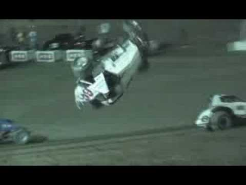 SST Series Waco Sprint Car Flip